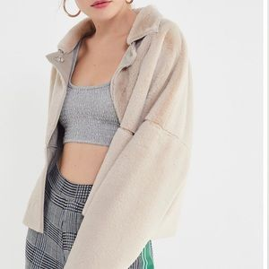 Urban outfitters felicity reversible jacket small